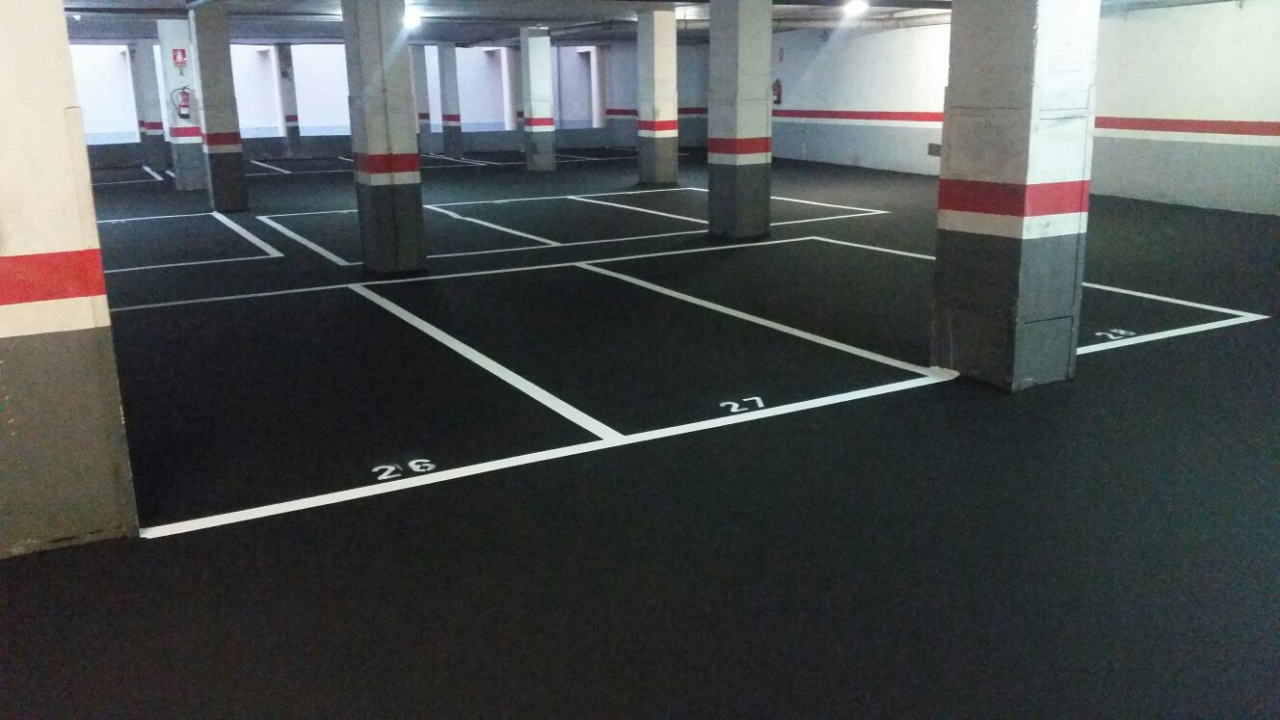 Parkings – Asfalto y slurry